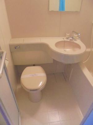 【トイレ】シティパレス21駒川中野