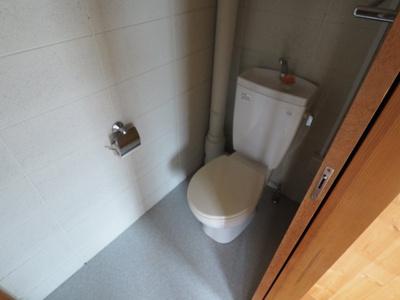 【トイレ】甲柔館アパート