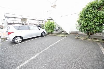 【駐車場】サンハイツ渡辺