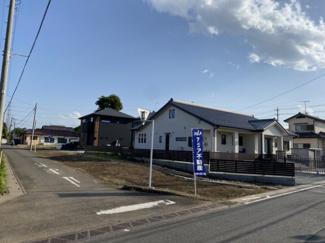 【外観】坂戸市石井 建築条件なし売地 68坪 【勝呂小学区】