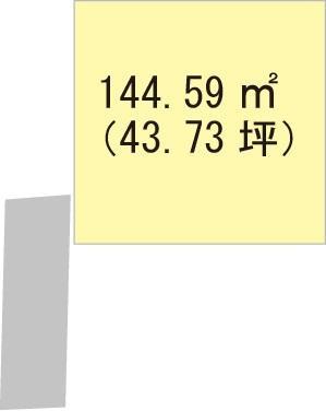 【区画図】【売地】西浜中学校区・25980-1
