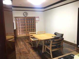 【居間・リビング】京丹波町 中古一戸建
