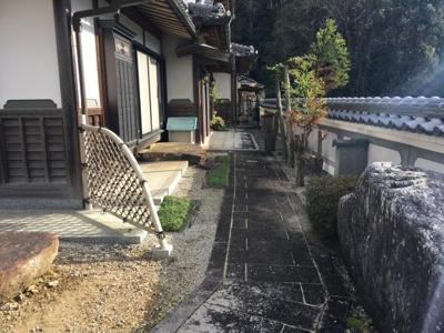 【庭】京丹波町 中古一戸建