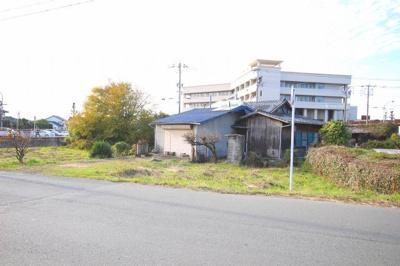 【前面道路含む現地写真】筑後市下北島 土地