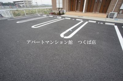 【駐車場】ブローテつくばA