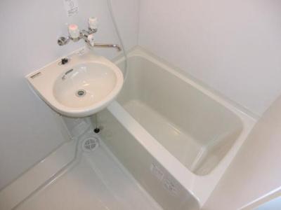 【浴室】レオパレス鳴尾A