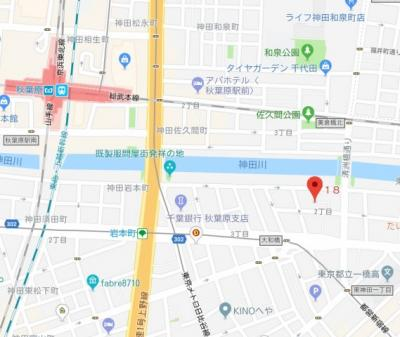 【地図】ボストーク・ネオ