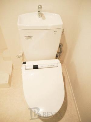 パークホームズ市谷薬王寺セントガレリアのトイレです
