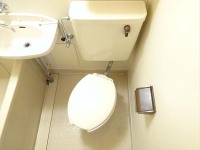 【トイレ】コーポレット羽根木
