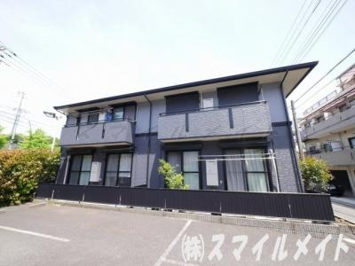 1フロア2世帯・全室角部屋・大和ハウス施工のアパートです。