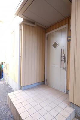 おしゃれな扉ですね。