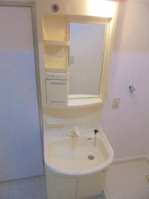 温水シャワー付洗面化粧台