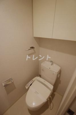【トイレ】コンフォリア神楽坂