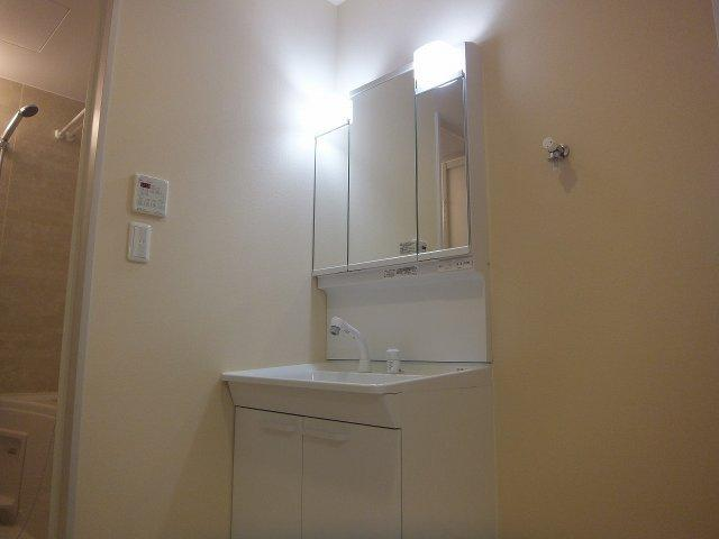 メゾンメルヴェイユ(柏原市大県) 独立洗面台