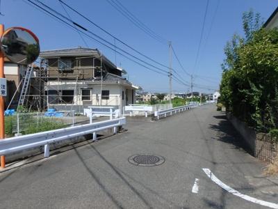 【前面道路含む現地写真】高崎市下之城町 中古一戸建