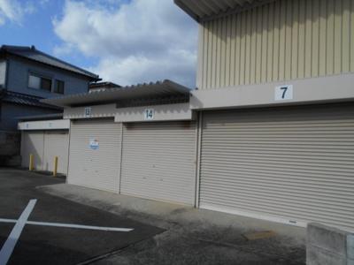 【外観】第4三商 シャッター付き倉庫