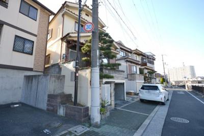 【前面道路含む現地写真】堺市中区深阪4丁 一戸建