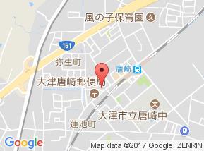 【地図】アンフィニー唐崎A