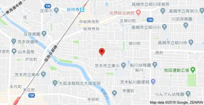 【地図】ハイツシーサイド