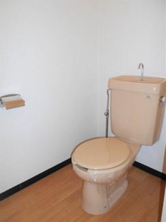 【トイレ】ナカシマハイツ