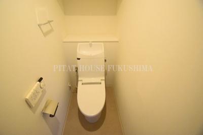 【トイレ】クレヴィアタワー中之島