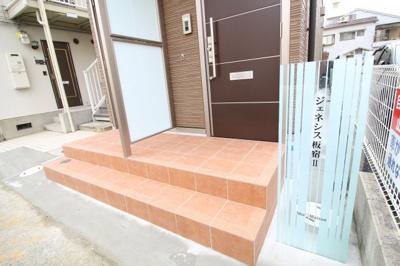 【エントランス】ジェネシス板宿Ⅱ