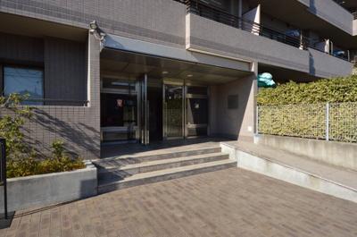 【エントランス】多摩川パークスクエア