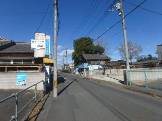 【前面道路含む現地写真】高崎市岩鼻町 売地