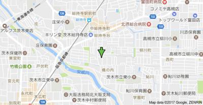 【地図】橋の内コーポ