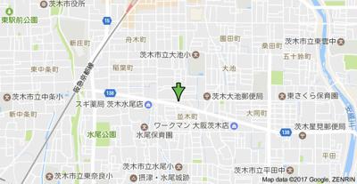 【地図】田中第二マンション