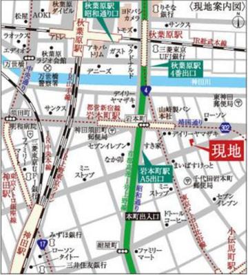 【地図】VAINQUEUR iwamotocho