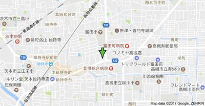 【地図】寺井ハイツ (株)Roots