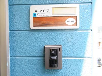 モニター付きインターホン(同タイプ別室の写真です)