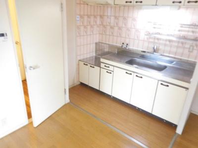 【キッチン】サンワロイヤルマンション2号館