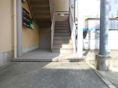 【エントランス】津之江パークハイツ