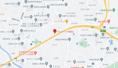 【地図】アルカディア見晴台