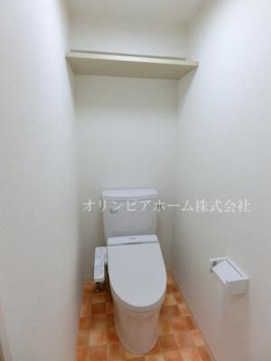 【トイレ】サンヒルズ 大島駅2分 空室 平成1年築 77.47平米