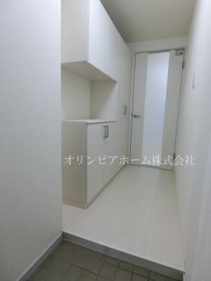 【玄関】サンヒルズ 大島駅2分 空室 平成1年築 77.47平米