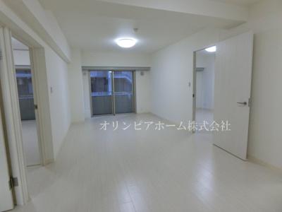【居間・リビング】サンヒルズ 大島駅2分 空室 平成1年築 77.47平米