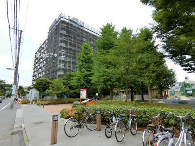 【外観】仲介手数料無料■大島スカイハイツ  2階 角部屋 リノベーション済