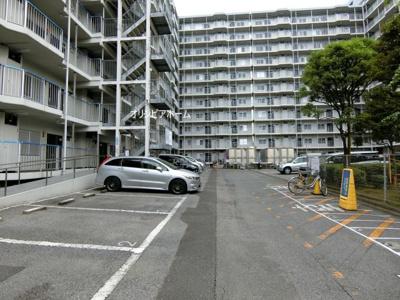 【外観】大島スカイハイツ  5階 南向きバルコニー リノベーション済