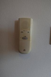 オートロック解錠機能付インターホン