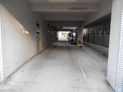 【外観】豊南町西3ジュムレ駐車場