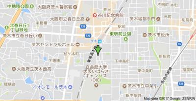 【地図】清和コーポ
