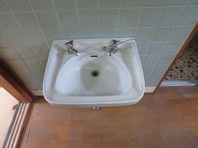 【洗面所】清和コーポ