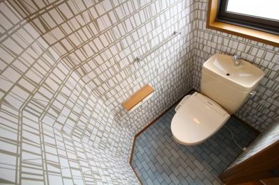 【トイレ】御蔵通 戸建て