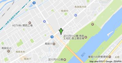 【地図】ラポールコーポ3