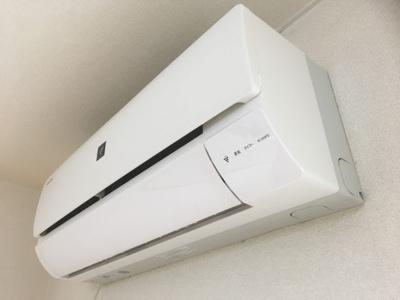 エアコン1台付き 同タイプの別の部屋の写真です。
