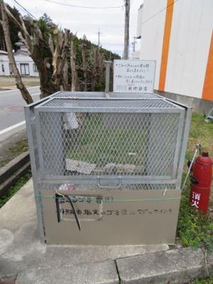 敷地内ゴミ収集所