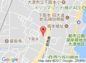 【地図】ラフィーネ坂本